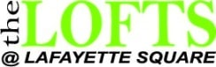 Lofts at Lafayette Square Logo Green