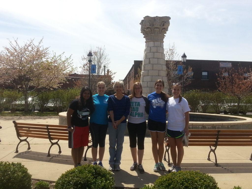 SLU Volunteers Spring 2015